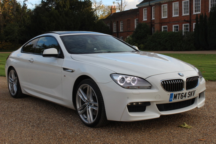 BMW 640d M Sport<br />2014 Alpine White Coupe NOW SOLD