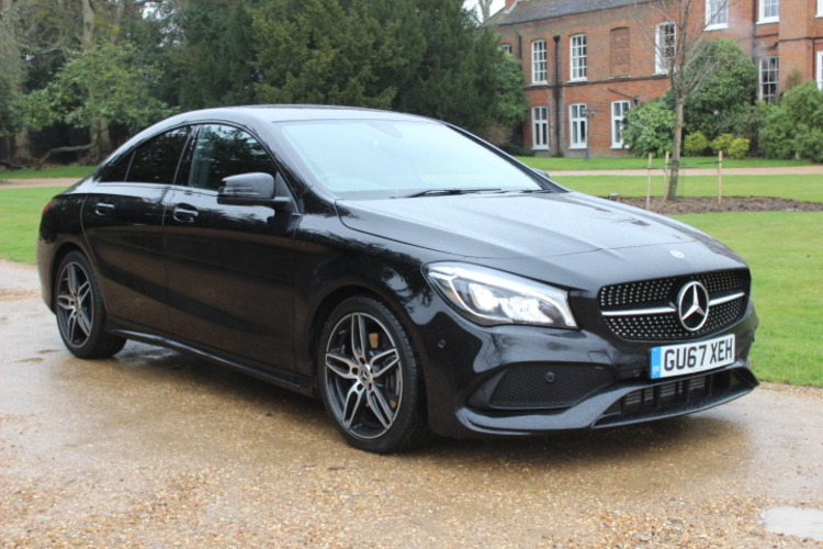 Mercedes-Benz CLA220 AMG Line DCT<br />2017 Metallic Black Coupe £25,000