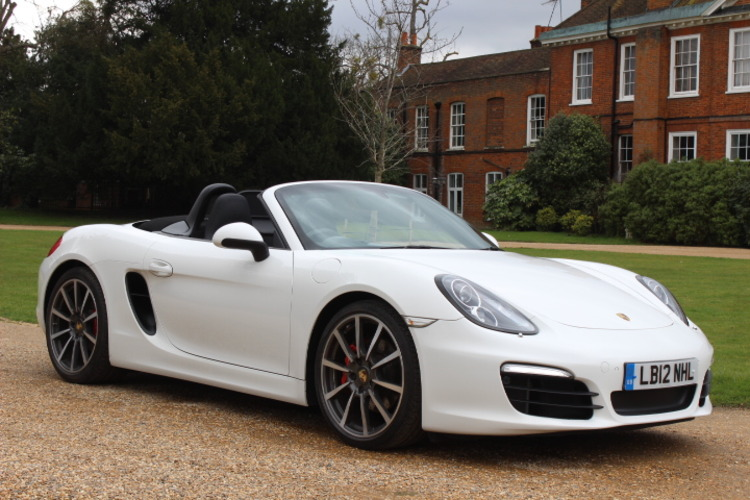 Porsche Boxster 981 S PDK<br />2012 White Convertible NOW SOLD