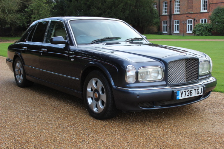 Bentley Arnage Red Label <br />2001 Meteor Blue Saloon £17,000