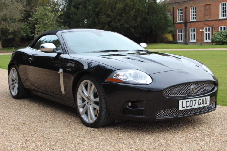 Jaguar XKR<br />2007 Black Metallic  Convertible NOW SOLD