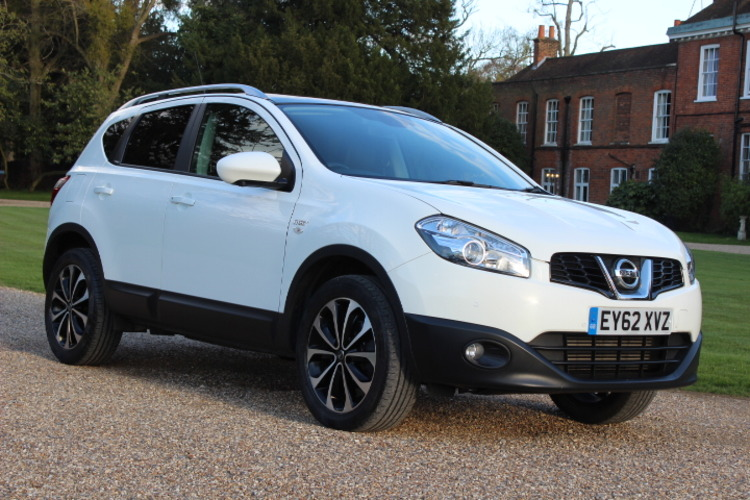 Nissan Qashqai N-Tec+<br />2012 White Hatchback NOW SOLD