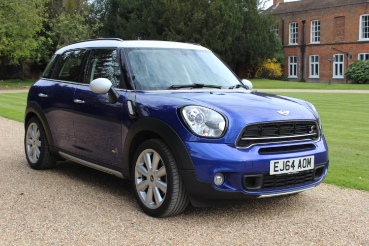 Mini Countryman SD Cooper ALL4<br />2014 Metallic Blue Hatchback RESERVED