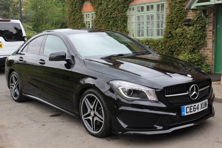 Mercedes-Benz CLA220 AMG Sport DCT<br />2014 Metallic Black Coupe £20,650